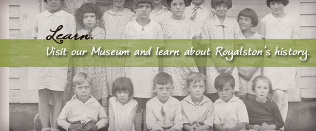 Visit our museum and learn about Royalston