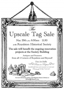 The Upscale Tag Sale @ Royalston Historical Society